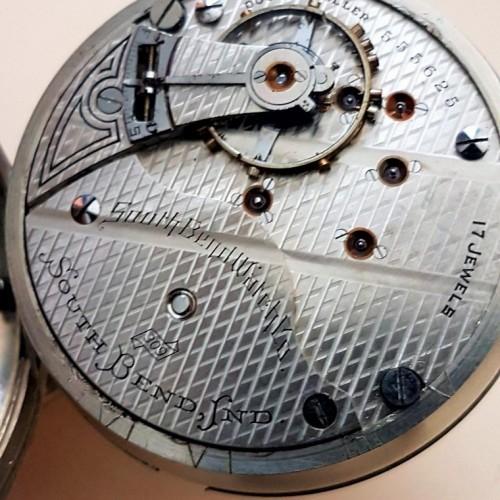 South Bend Grade 327 Pocket Watch Image