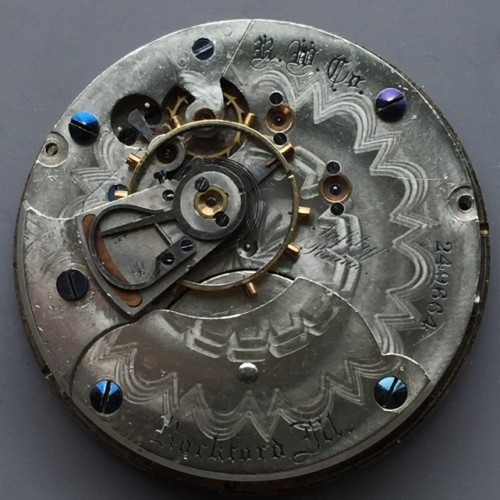 Rockford Grade 49 Pocket Watch Image
