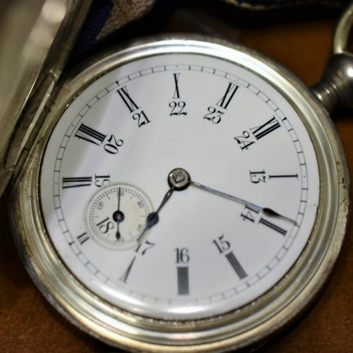 New York Watch Co. Grade Theo E.  Studley Pocket Watch Image