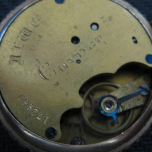 Image of New England Watch Co. Z #172460 Movement