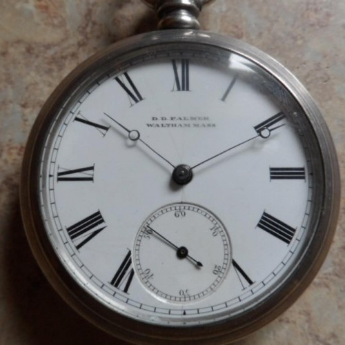 D.D. Palmer Watch Co. Grade  Pocket Watch Image