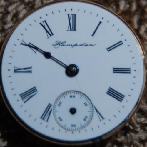 Hampden Grade Molly Stark Pocket Watch Image