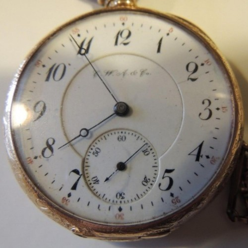 Illinois Grade 177 Pocket Watch Image