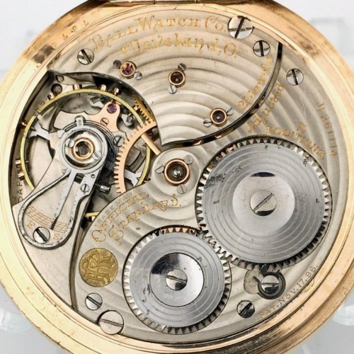 Image of Ball - Waltham Official Standard #B261114 Movement