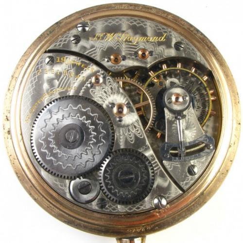 Elgin Grade 455 Pocket Watch Image