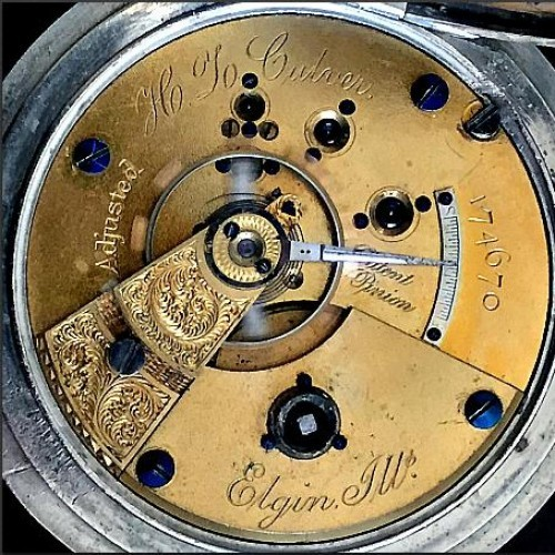Elgin Grade 62 Pocket Watch Image