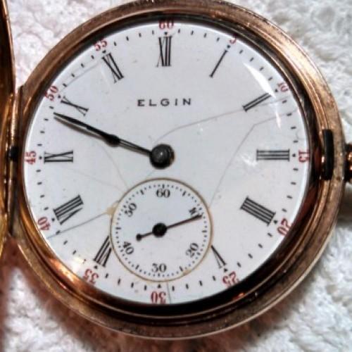 Elgin Grade 318 Pocket Watch Image