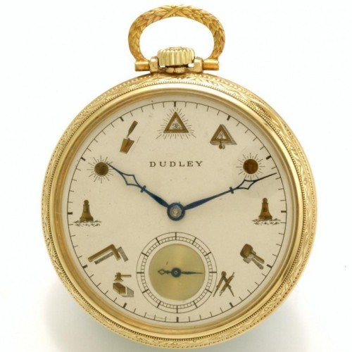 Dudley Watch Co. Grade  Pocket Watch Image
