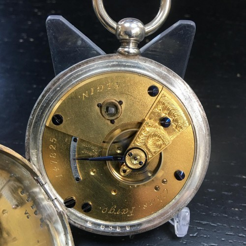 Elgin Grade 12 Pocket Watch Image