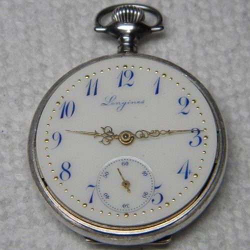 Longines Grade 13.67 Pocket Watch Image