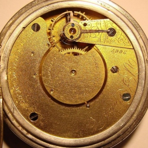 Image of U.S. Watch Co. (Waltham, Mass)  #2667 Movement