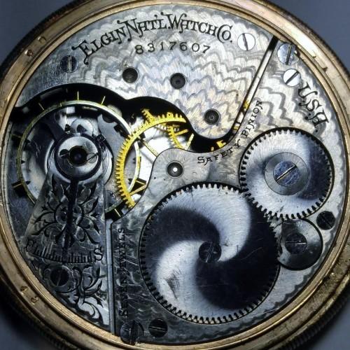 Elgin Grade 210 Pocket Watch Image