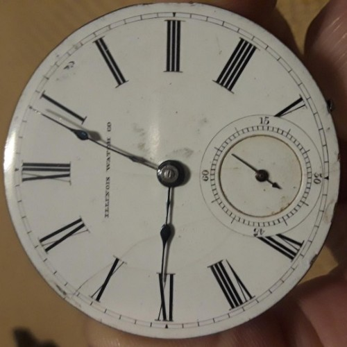 Illinois Grade 1 Pocket Watch Image