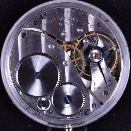 Elgin Grade 496 Pocket Watch Image