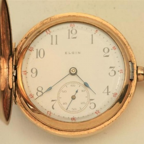 Elgin Grade 354 Pocket Watch Image