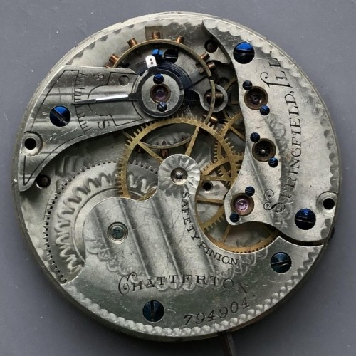 Illinois Grade 144 Pocket Watch Image