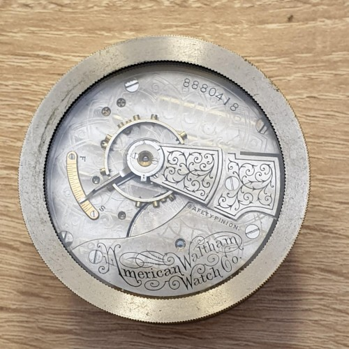 Waltham Grade No. 18 Pocket Watch Image