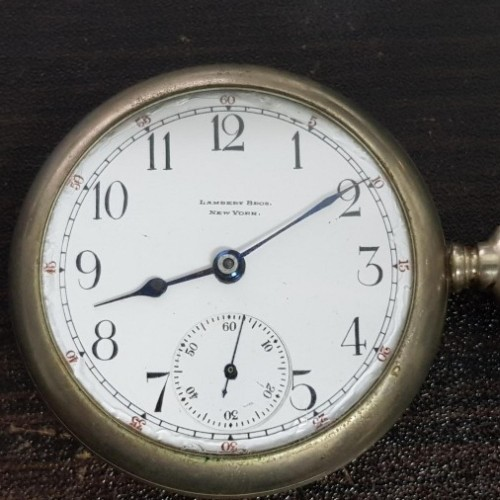 Illinois Grade 99 Pocket Watch Image