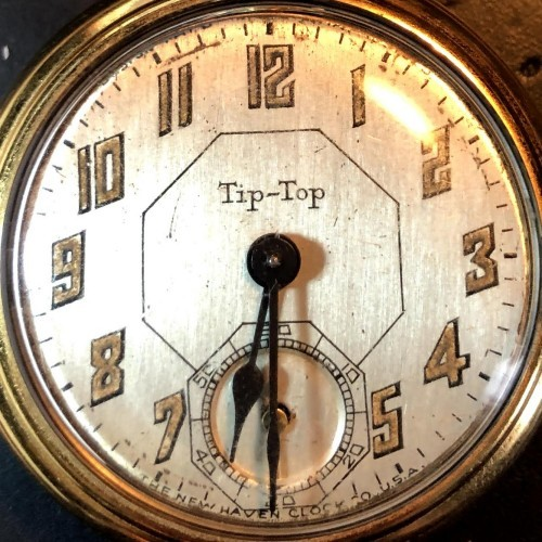 New Haven Clock & Watch Co. Grade  Dollar Watch Pocket Watch Image