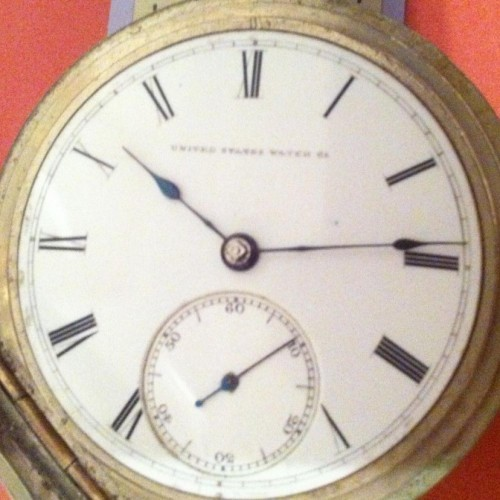 U.S. Watch Co. (Marion, NJ) Grade J.W. Deacon Pocket Watch Image