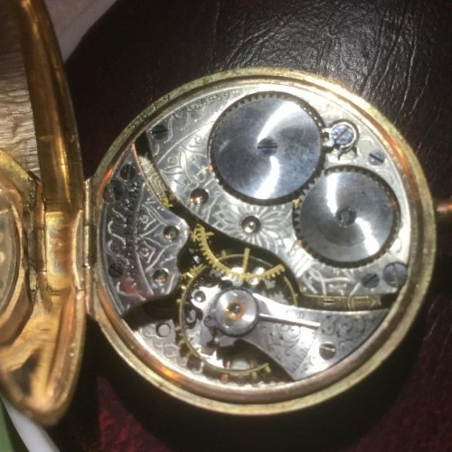 Waltham Grade No. 100 Pocket Watch Image