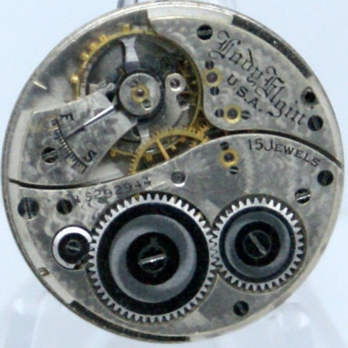 Elgin Grade 380 Pocket Watch Image