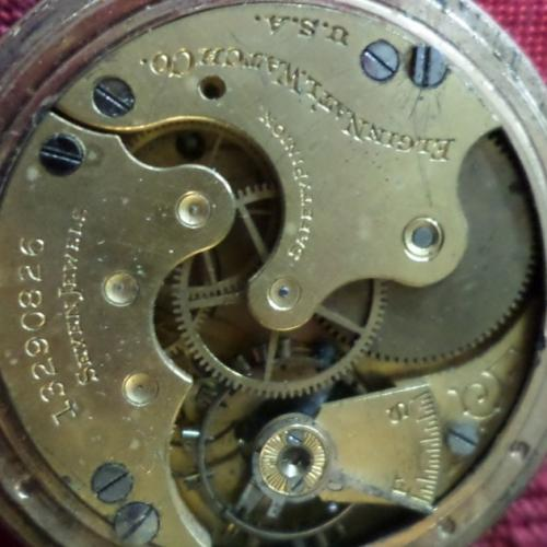 Elgin Grade 289 Pocket Watch Image
