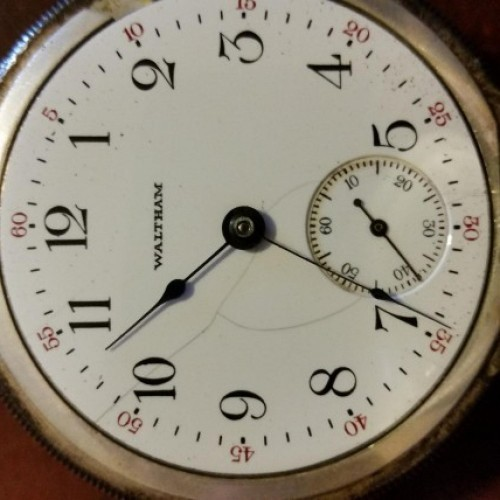 Image of Waltham No. 18 #15453346 Dial