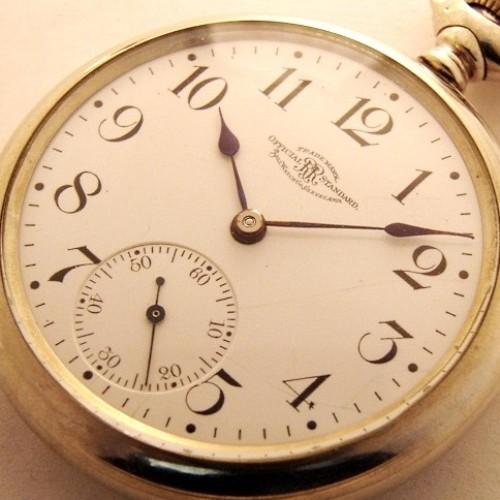 Image of Ball - Waltham Official Standard #B205278 Dial