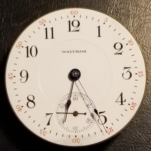 Waltham Grade No. 85 Pocket Watch Image
