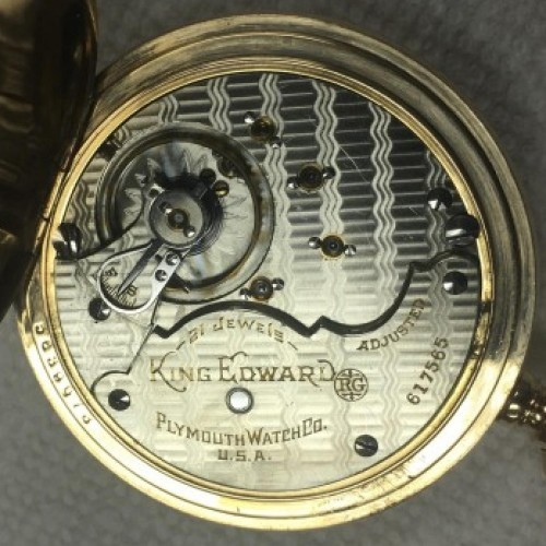 Rockford Grade 845 Pocket Watch Image