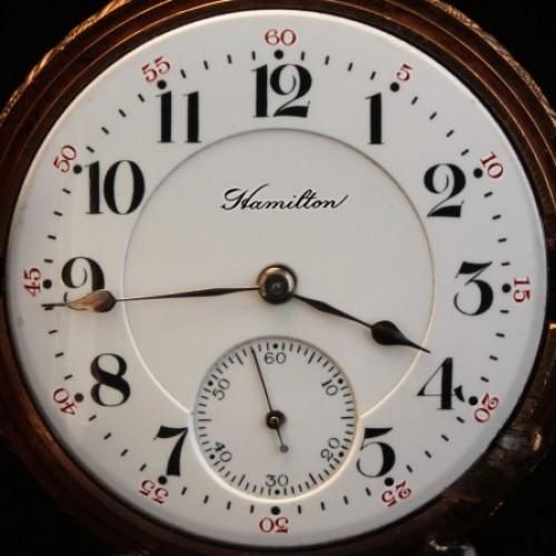 Hamilton Grade 993 Pocket Watch