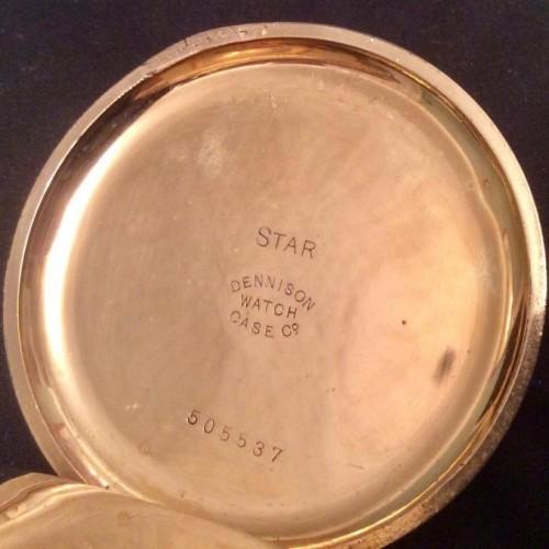 Hamilton Grade 974 Pocket Watch Image