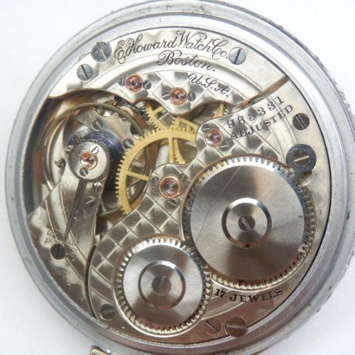 E. Howard Watch Co. (Keystone) Grade Series 4 or 9 Pocket Watch Image
