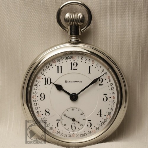 Illinois Grade 106 Pocket Watch Image