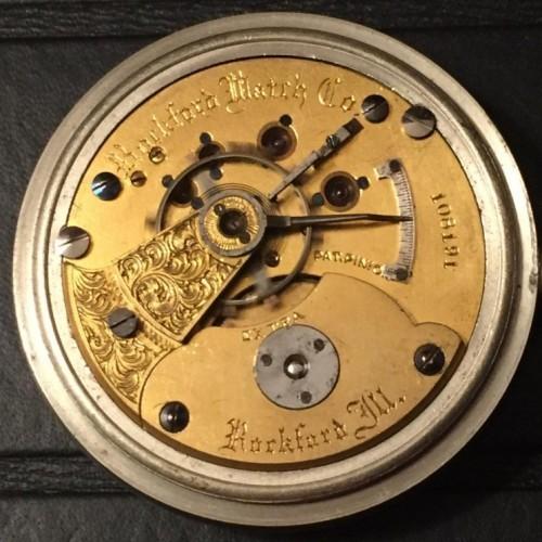 Rockford Grade M2-11J Pocket Watch Image