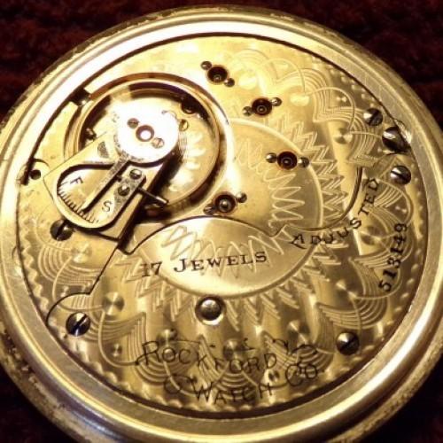 Rockford Grade 820 Pocket Watch Image