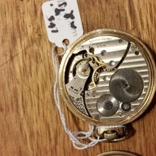South Bend Grade 203 Pocket Watch Image