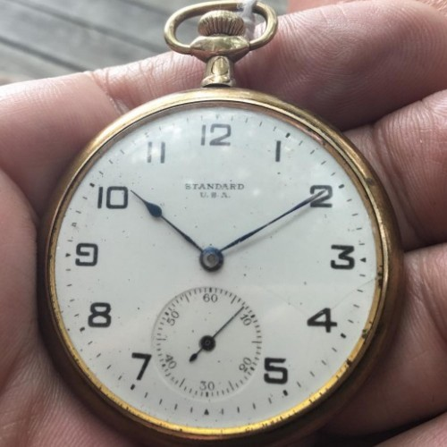 Image of New York Standard Watch Co.  #227168 Dial