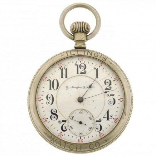 Illinois Grade 172 Pocket Watch Image