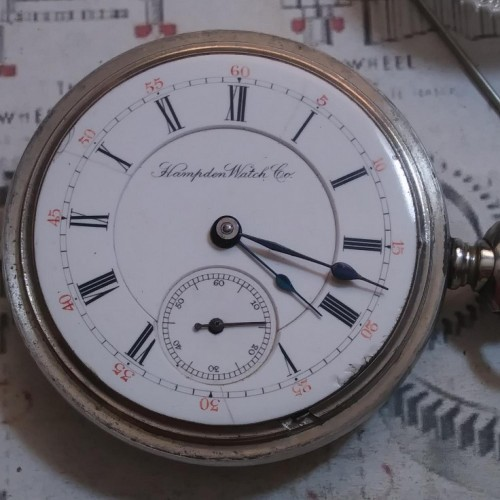 Image of Hampden J.C. Perry #425020 Dial