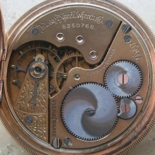 Elgin Grade 212 Pocket Watch Image