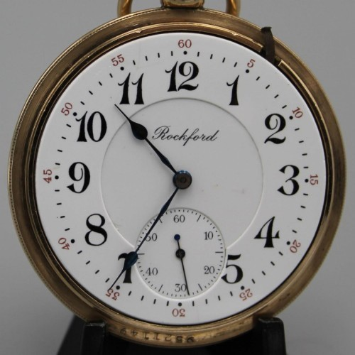 Rockford Grade 405 Pocket Watch Image