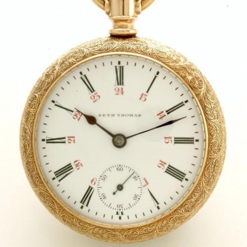 Seth Thomas Grade Maiden Lane Pocket Watch Image
