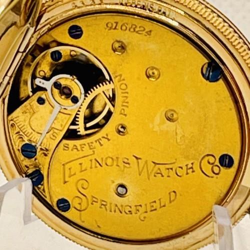 Illinois Grade 130 Pocket Watch Image