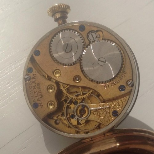 Waltham Grade No. 361 Pocket Watch Image