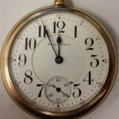 South Bend Grade 211 Pocket Watch