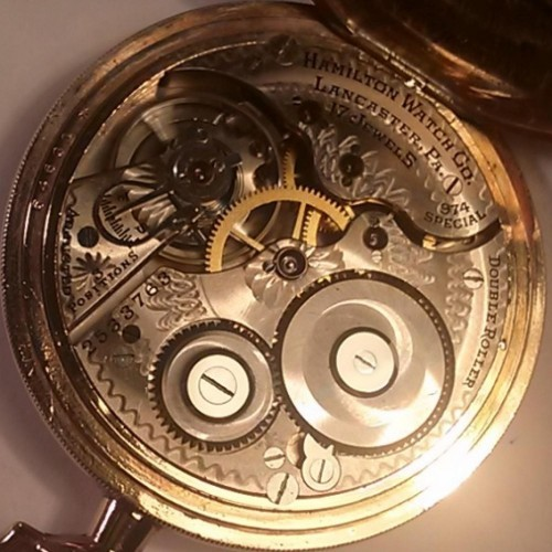 Image of Hamilton 974 Special #2533763 Movement