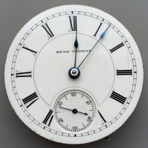 Seth Thomas Grade 71 Pocket Watch Image