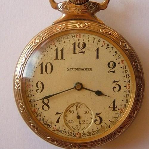 South Bend Grade Studebaker Pocket Watch Image